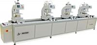 Автоматическая четырехголовочная сварочная машина для ПВХ дверей и окон SHZ4-100х120х4400
