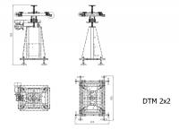 DTM 2x2 - поворотный стол