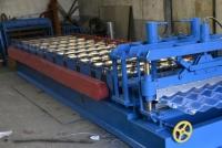 Линия по производству металлочерепицы
