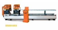 Двухголовочая пила с фронтальной подачей пильных дисков (полный автомат) DAIZER PVC 142