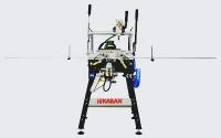 Механический универсальный станок с тройным сверлением для копировально-фрезерных работ и для фрезерования водоотливных каналов DE4090