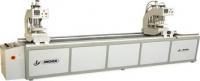 Автоматическая двухголовочная сварочная машина для ПВХ дверей и окон SHZ2-100x120x3050