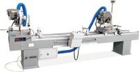 Пильный станок с цифровым дисплеем для резки алюминиевого и ПВХ профилей LJB2X-350х3500A