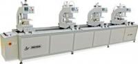 Автоматический четырехголовочный сварочный станок HJ02-4500*4/4*A