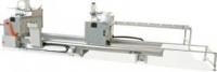 Двухголовочная пила для алюминиевых и пластиковых профилей LJZ2-450x3600